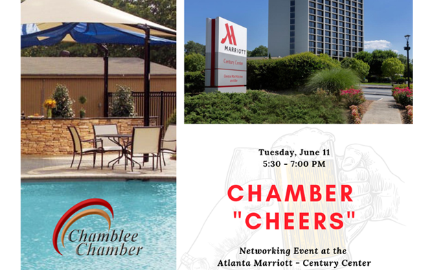 "Chamber ""CHEERS"" Networking Event at Atlanta Marriott"