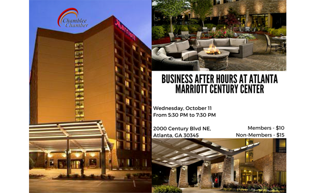 Business After Hours at Atlanta Marriott, Century Center