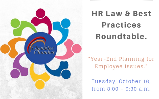 HR Law & Best Practices Roundtable!