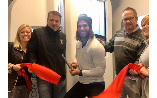 Ribbon Cutting Ceremony of CryoEvolution