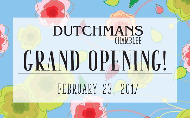 Grand Opening & Ribbon Cutting of Dutchmans Chamblee