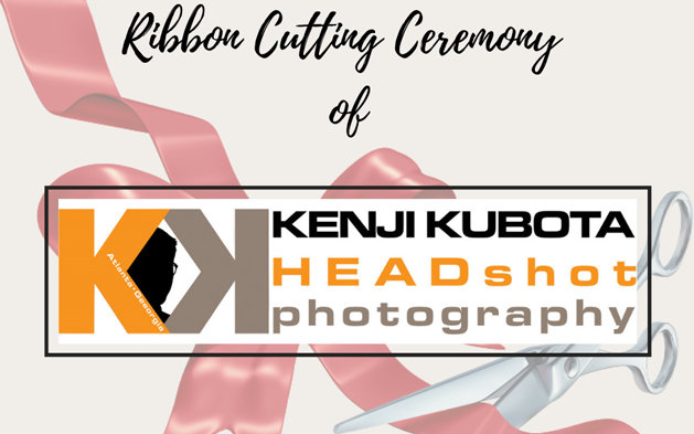 Kenji Kubota's Ribbon Cutting Ceremony