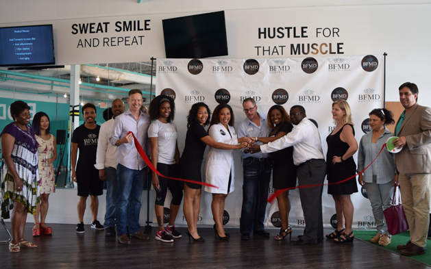Ribbon Cutting at BodyFitMD