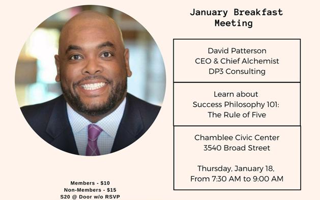 Chamblee Chamber Breakfast with David Patterson