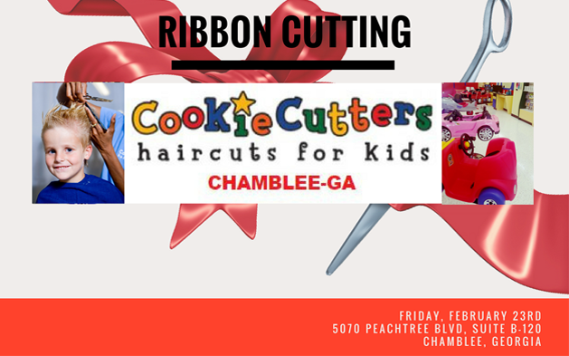 Cookie Cutters Chamblee Ribbon Cutting Ceremony