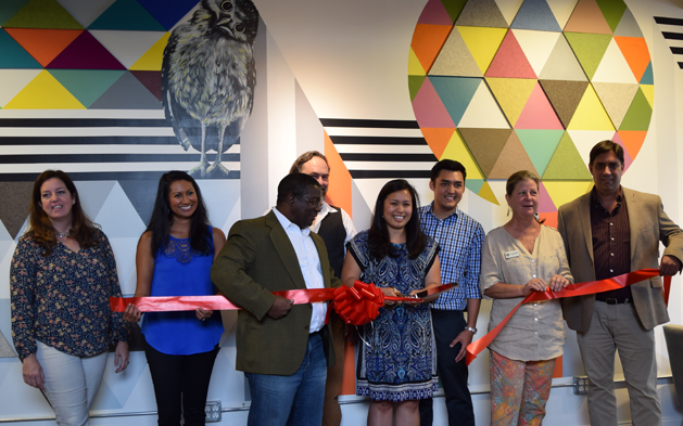 Ribbon Cutting at 3411 Coworking