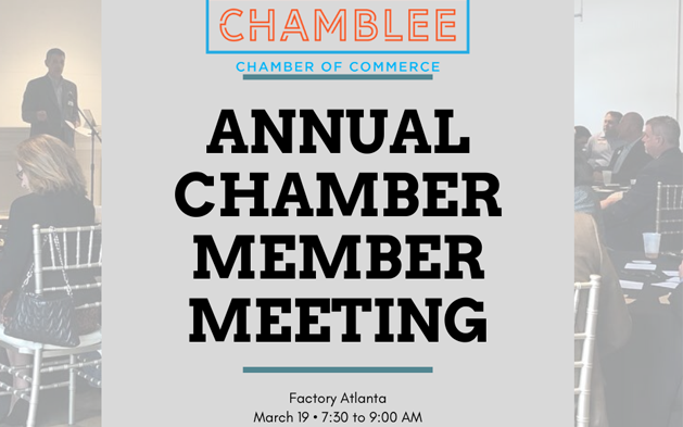 Annual Chamblee Chamber Member Meeting