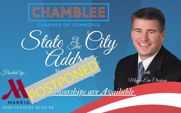 State of the City Postponed