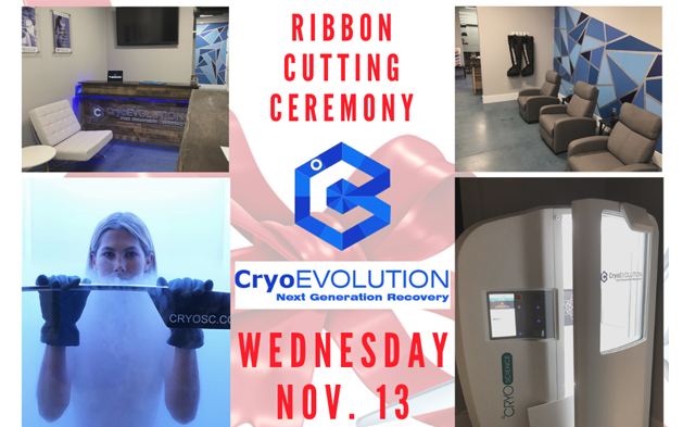 Ribbon Cutting Ceremony of CryoEvolution